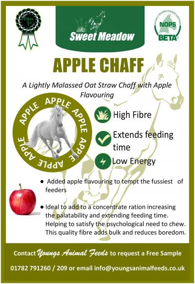 Introducing our very NEW Sweet Meadow Apple Chaff.